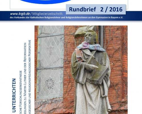 Der Rundbrief 2/2016 Digital-Ausgabe